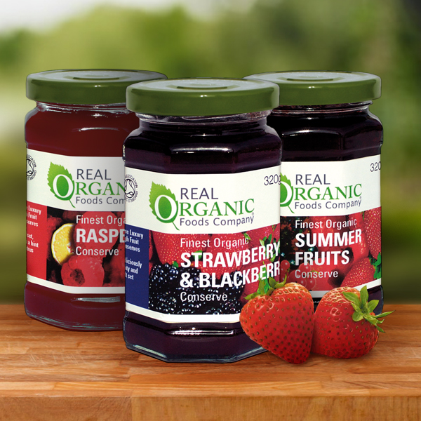 Real Organic Conserves and Marmalade
