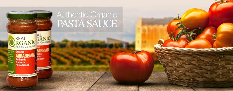 Authentic Organic Pasta Sauce