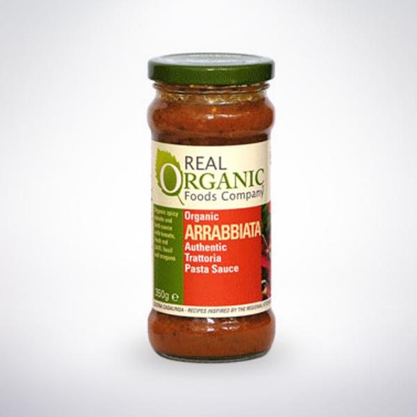 Real Organic Arrabbiata Pasta Sauce
