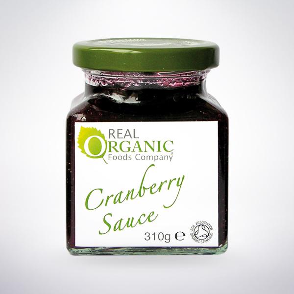 Real Organic Gourmet Cranberry Sauce