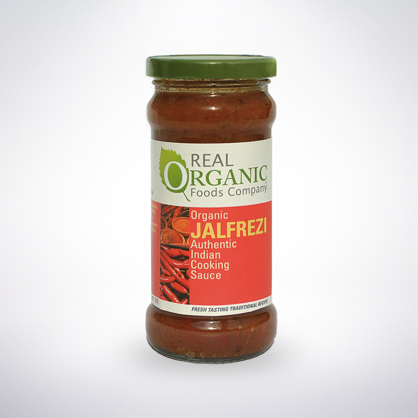 Real Organic Jalfrezi Indian Cooking Sauce