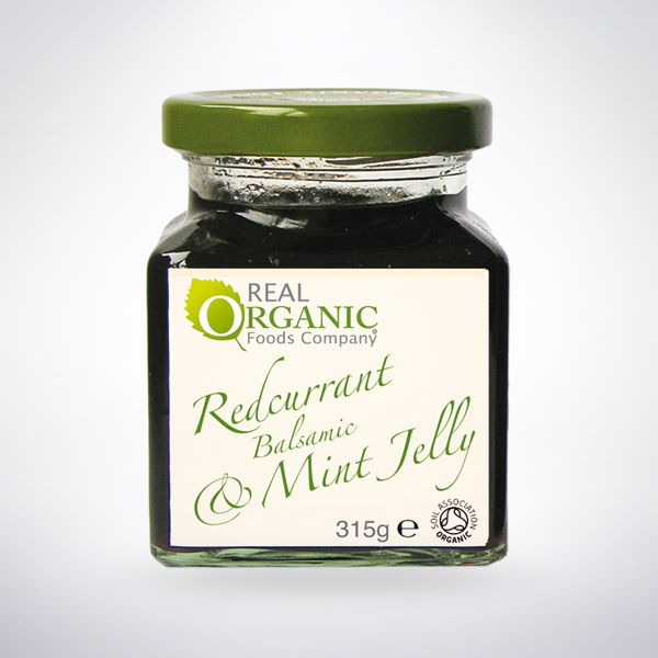 Real Organic Redcurrant Gourmet Jelly