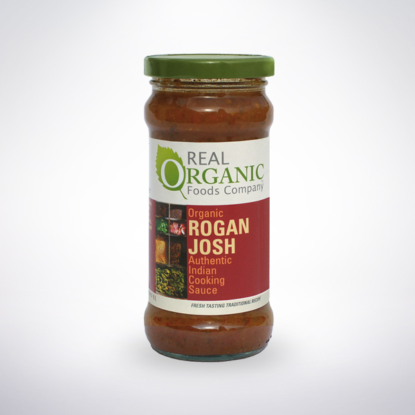 Real Organic Rogan Josh Indian Cooking Sauce