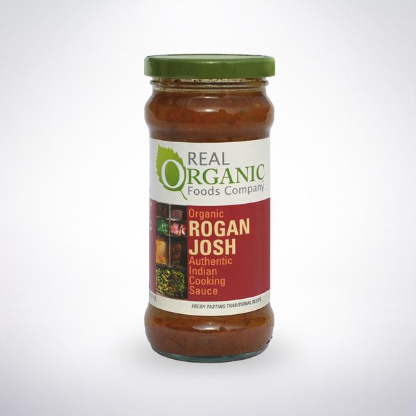 Real Organic Rogan Josh Indian Cooking Sauce