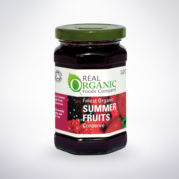 Real Organics Summer Fruits Conserve