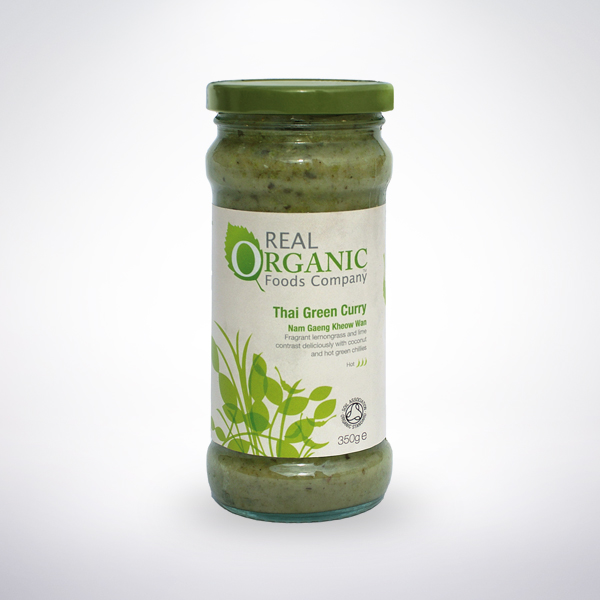 Real Organic Thai Green Curry Cooking Sauce