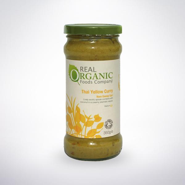 Real Organic Thai Yellow Curry