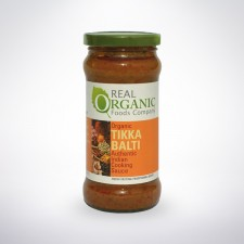Real Organic Tikka Balti Indian Cooking Sauce