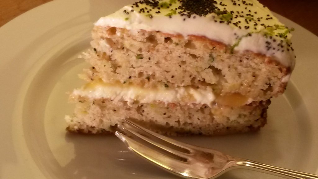 Courgette & Lime cake