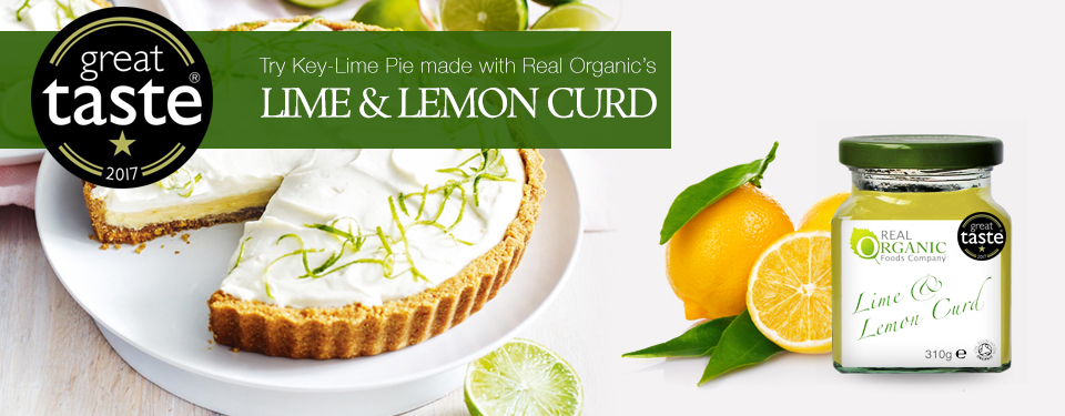 Organic Lime & Lemon Curd
