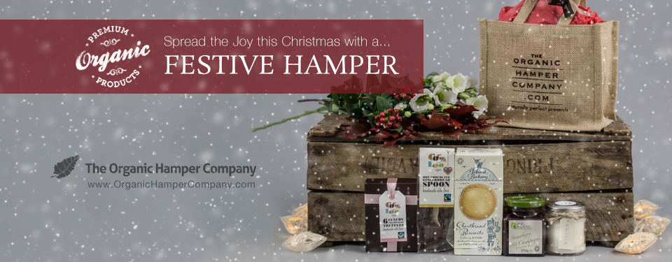Christmas Hamper with Real Organic Preserve