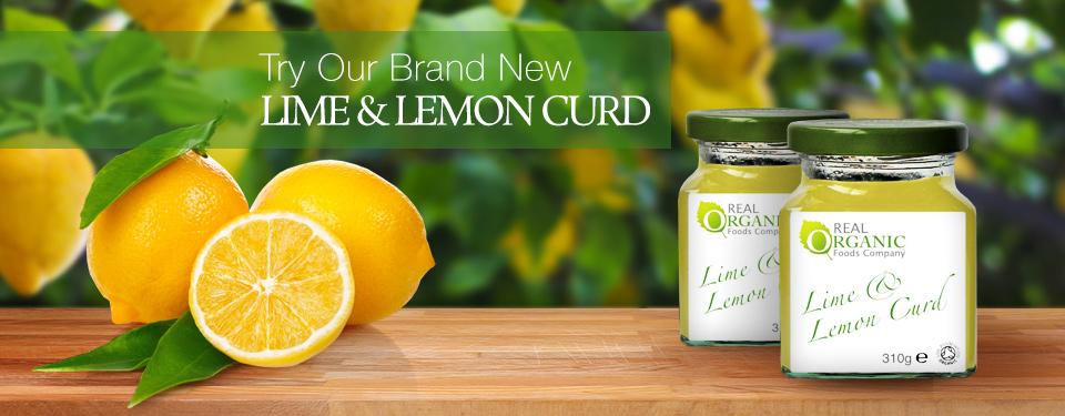 Organic Lime and Lemon Curd