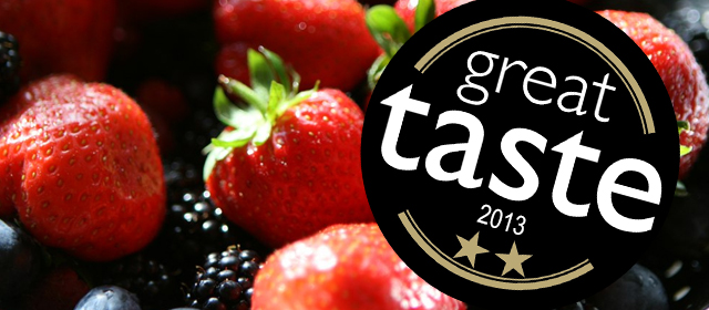 Great Taste Award Real Organic