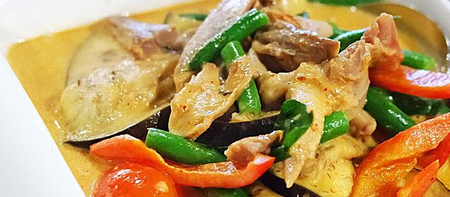 Red Thai Curry Stir Fry