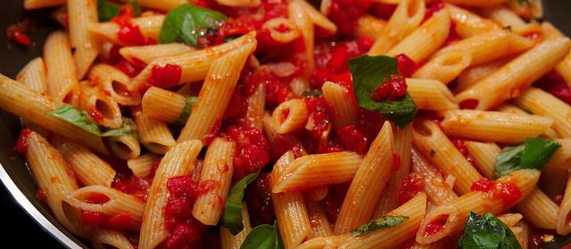 Sicilian Tomato and Olive Pasta