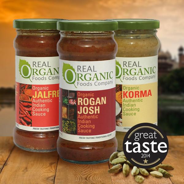 Real Organic Indian Cooking Sauces