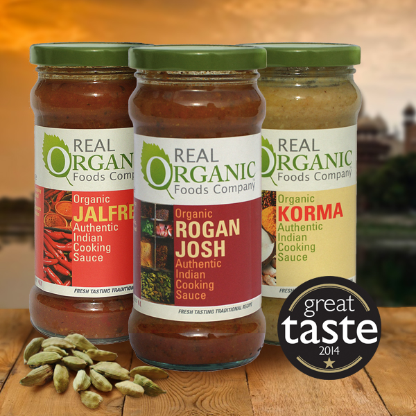 Real Organic Indian Cooking Sauce