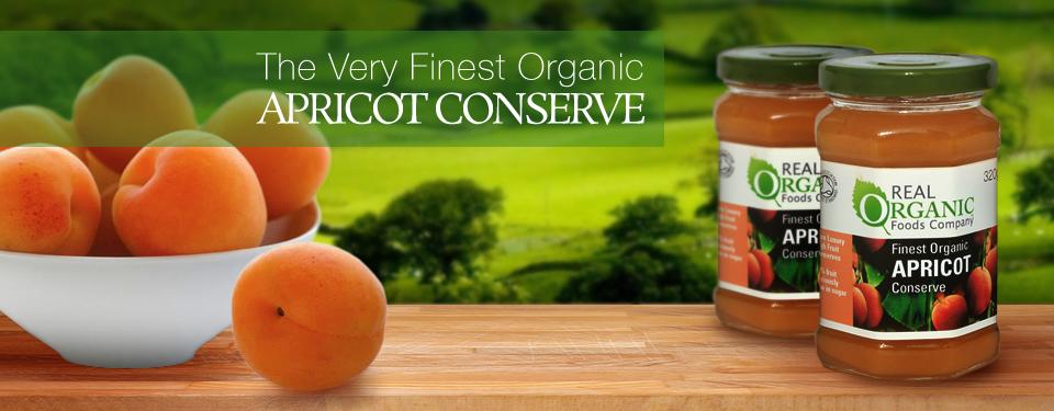 Finest Organic Apricot Conserve