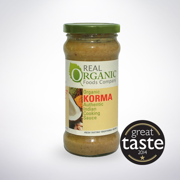 Real Organic Korma Sauce