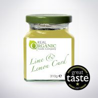 Organic Lime and Lemon Curd