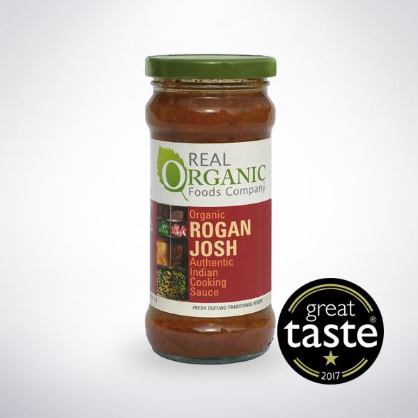 Organic Rogan Josh Sauce