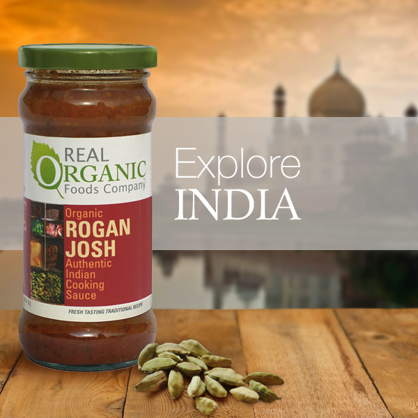Organic Indian Cooking Sauces